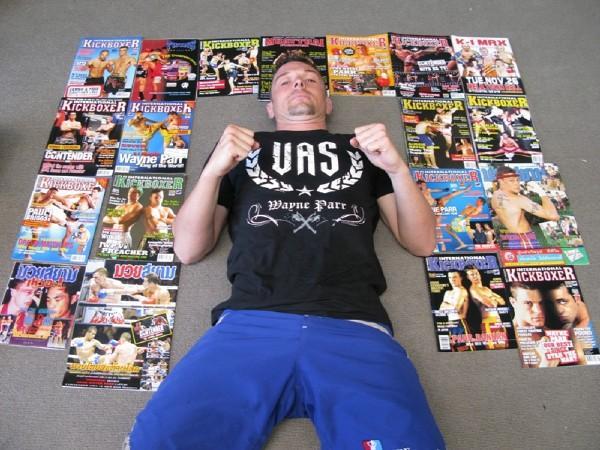 JWP International Kickboxing Covers