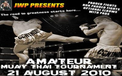 Amateur Muay Thai Tournament