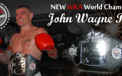 John Wayne Parr New WKA Champion