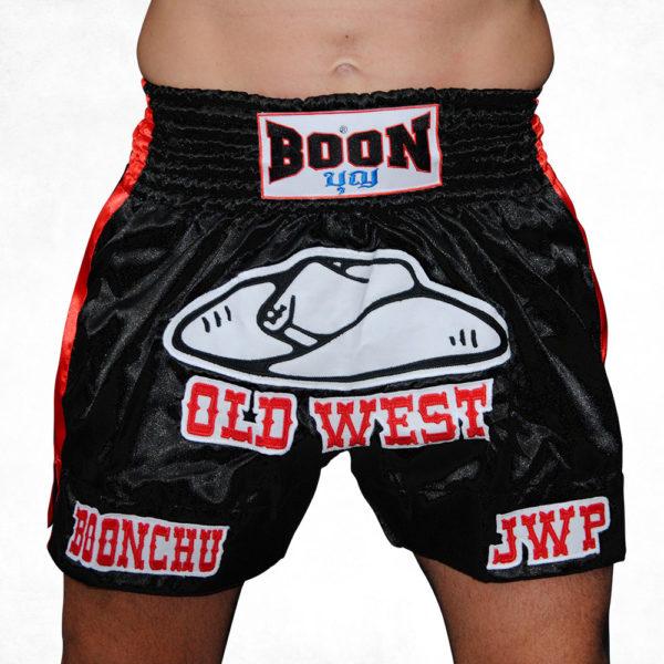 Boonhu JWP Old West Muay Thai Shorts
