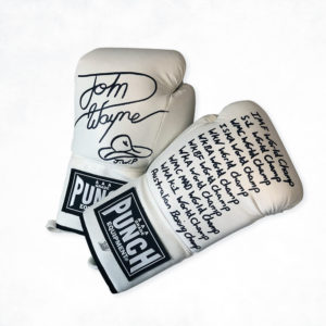John Wayne Parr Signed Gloves